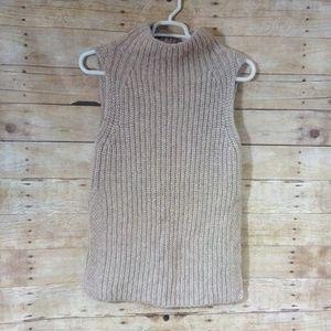 Wilfred Sleeveless Alpaca Blend Sweater